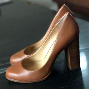 Banana Republic Brown Leather Heel Size 7